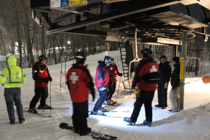 Cascade Ski Lift Evac Training 2-4-2014 003